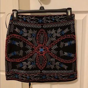Lulu's beaded skirt